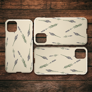 Lavender iPhone Case