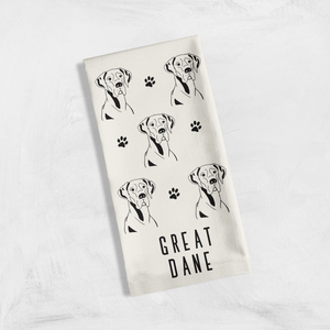 Tea Towels - Must Love Dogs (Black and White)