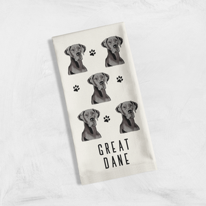 Tea Towel- Must Love Dogs (Color)