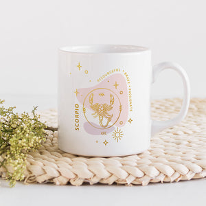 Celestial Nights- Zodiac Mug
