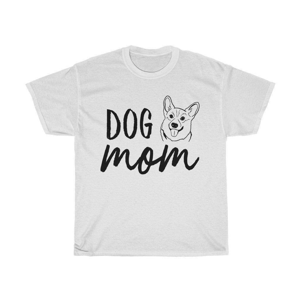 Corgi Dog Mom T-shirt