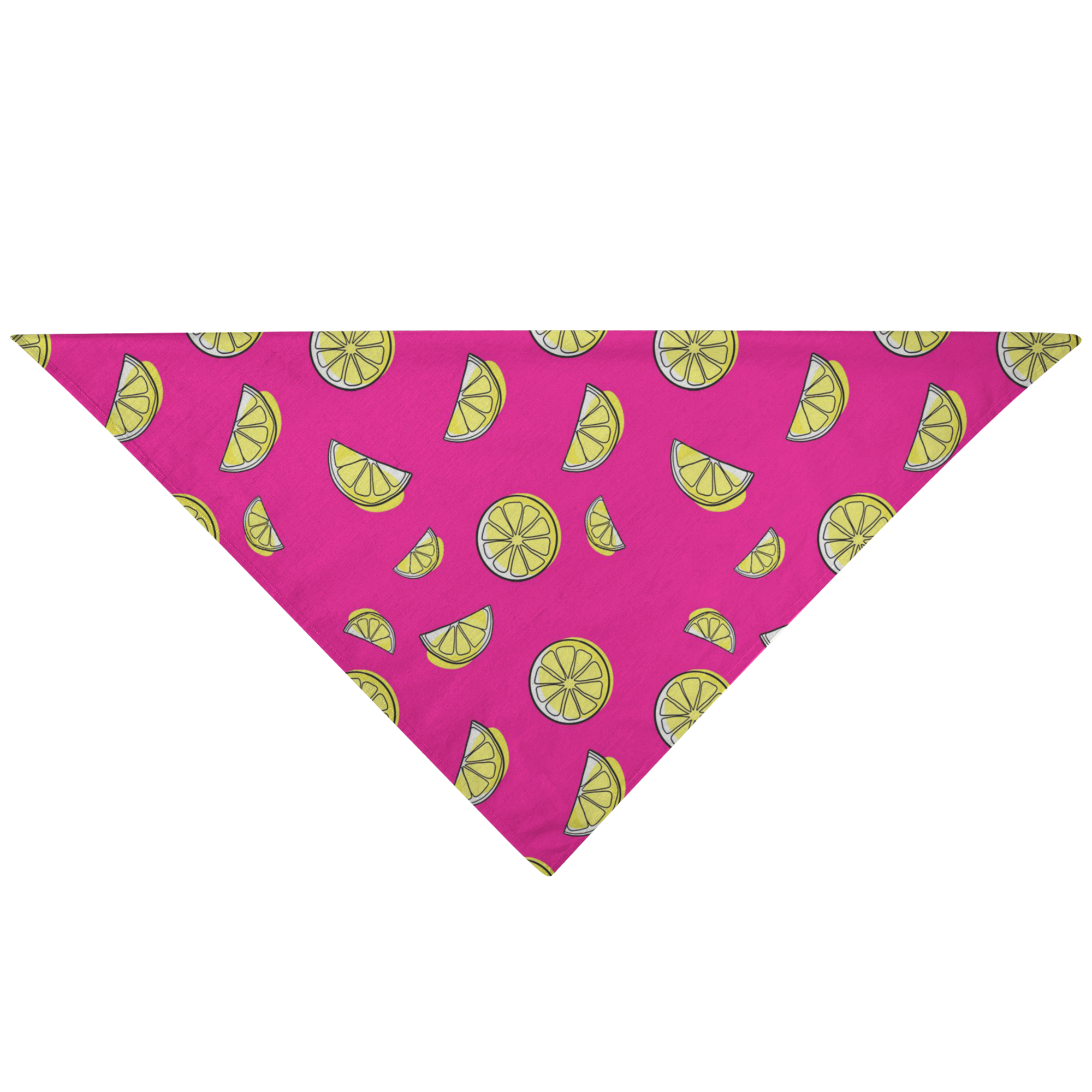 Lemon Pet Bandana