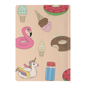 Ice Cream and Floaties Paperback Notebook