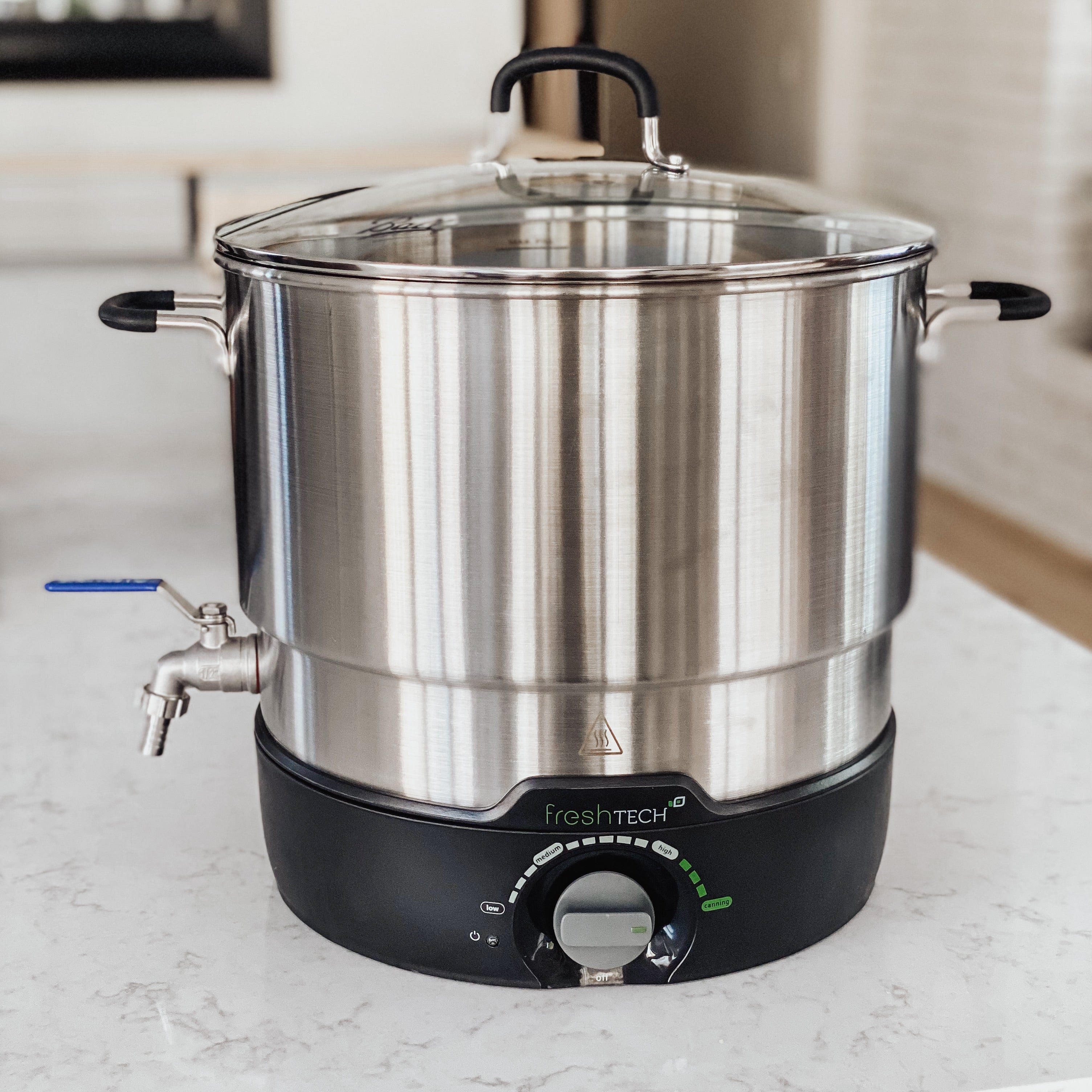 42 Lb Stainless Steel Electric Direct Heat Wax Melter