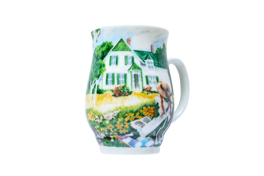 Anne Quilt Bone China Mug