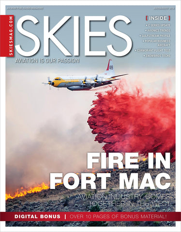 Skies - July/August 2016 (CSV6I4)