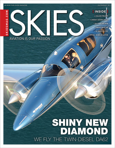 Skies - July/August 2017 (CSV7I4)