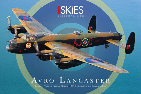 2018 Special Edition Avro Lancaster Poster
