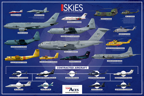 2018 Royal Canadian Air Force Fleet Poster