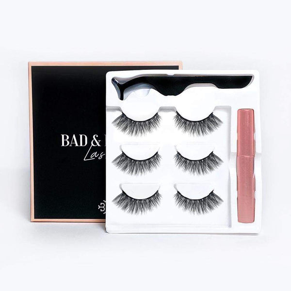 Del Rey Eyelash & Eyeliner Kit Bad & Boujie