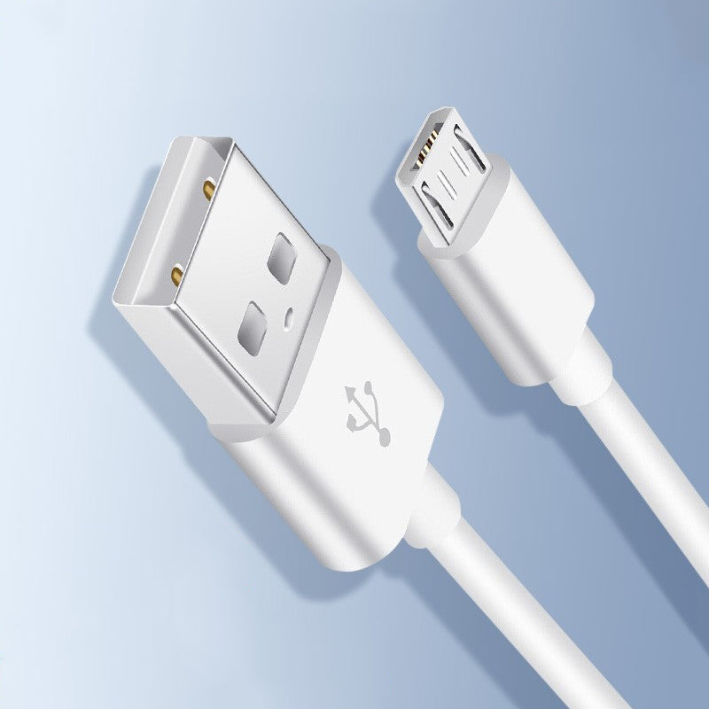 OKSJ Micro USB cable 2 packs White