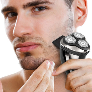 Phisco Men's Electric Rotary Shaver Razor With Beard Trimmer 3D