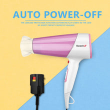 Load image into Gallery viewer, SweetLF Hair Dryer  Ionic Household 1875W Powerful Salon Cold and Hot Wind Hair Styler with 2 Speed and 3 Heat Set,Pink