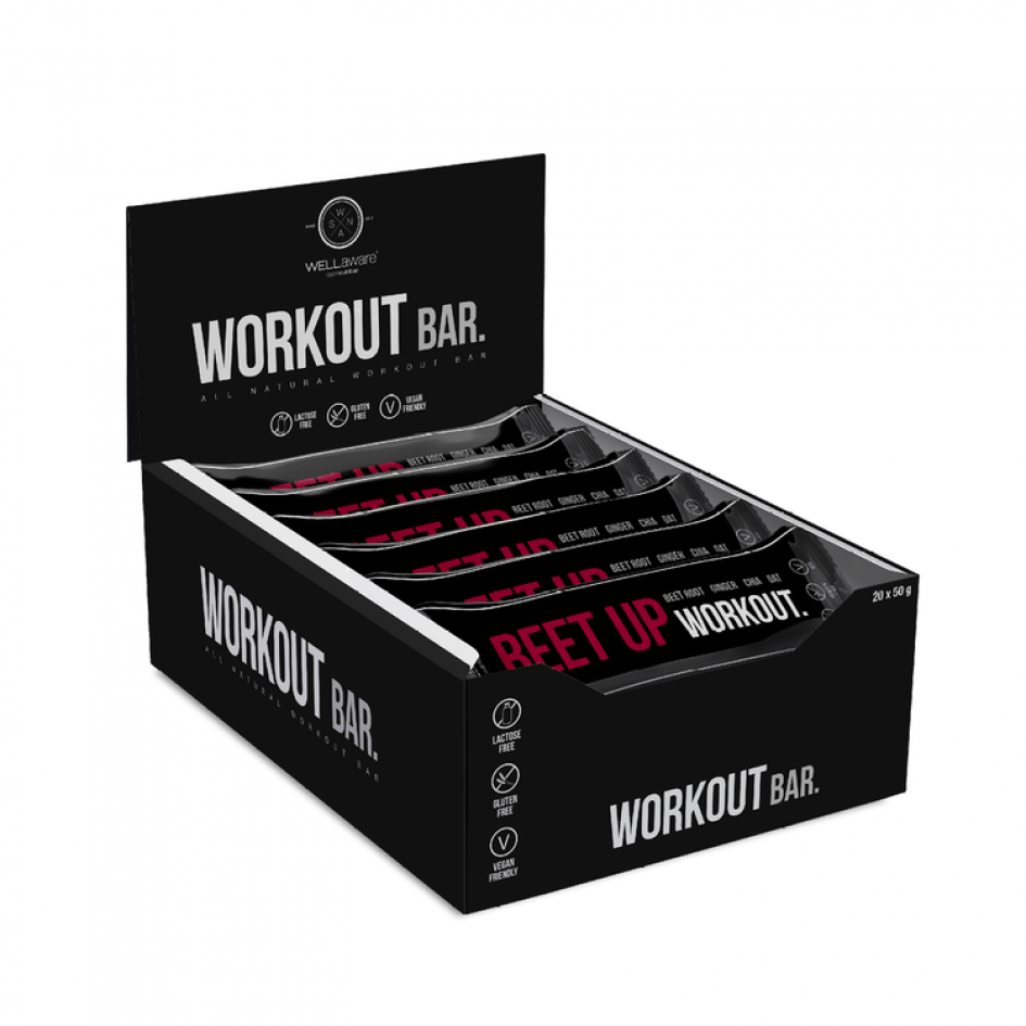 WellAware Beet Up Workout 50g - Back on Track Finland