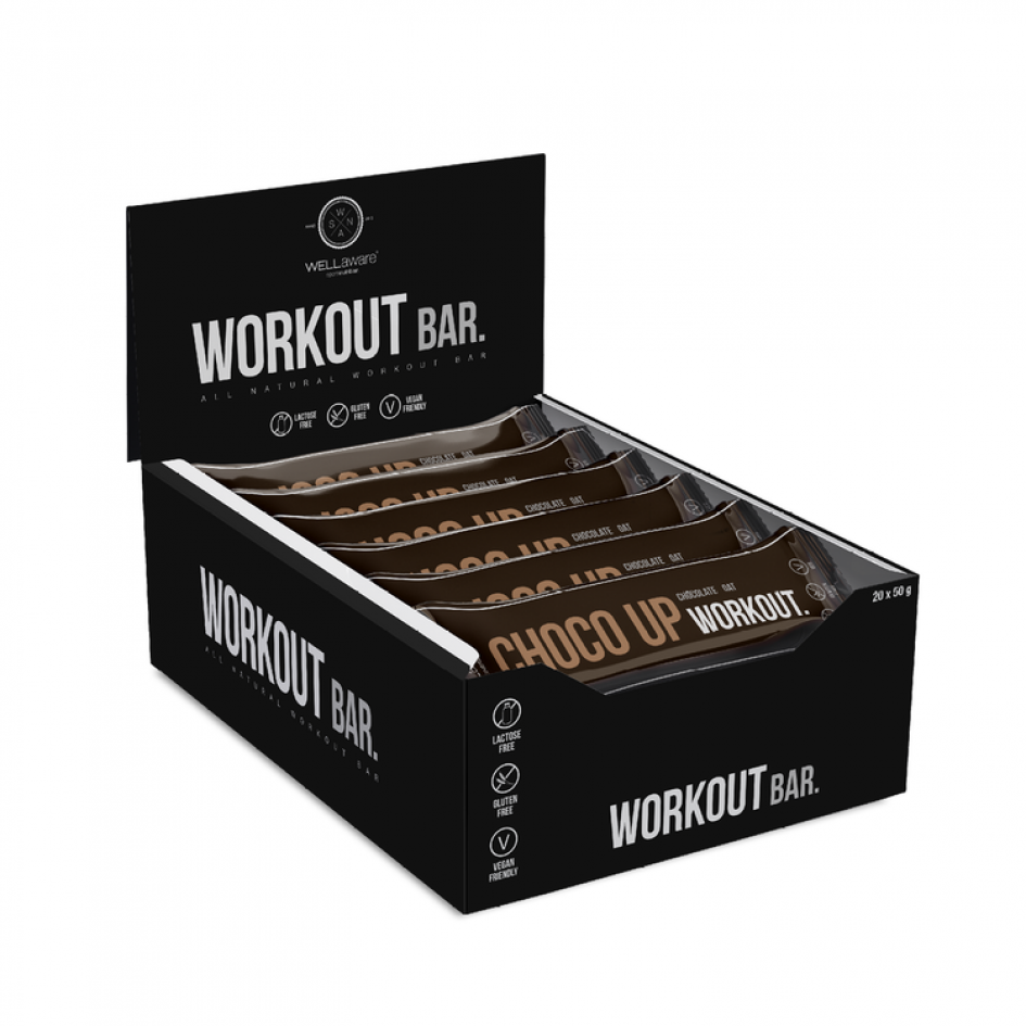 WellAware Choco Up Workout 50g - Back on Track Finland