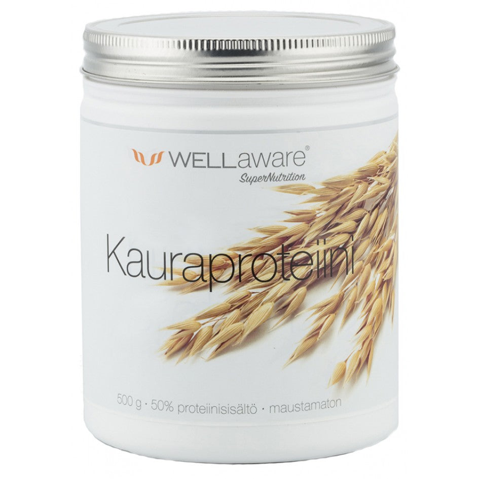 WellAware Kauraproteiini 500g - Back on Track Finland