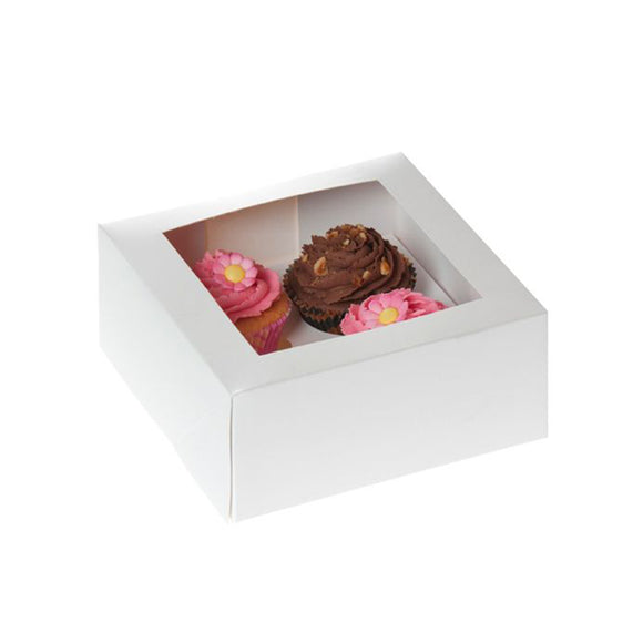 Set Box 4 Cupcake bianco House of Marie 2pz