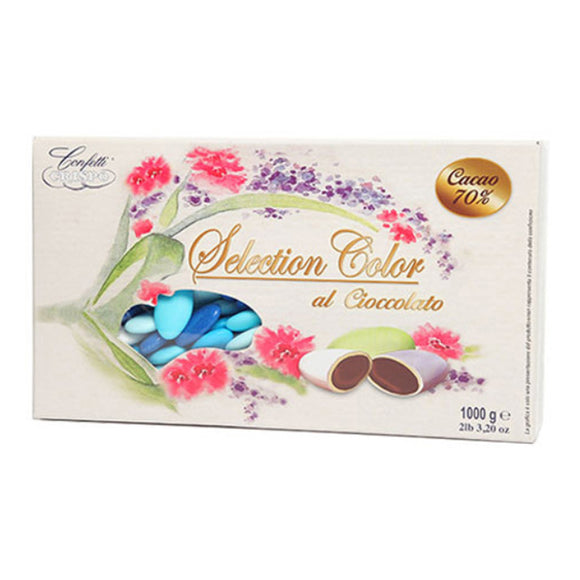 Confetti al cioccolato Selection Color celeste 1kg