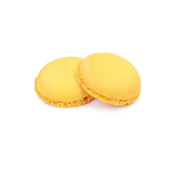 Macarons giallo pronto all'uso Modecor 2pz (4 gusci)