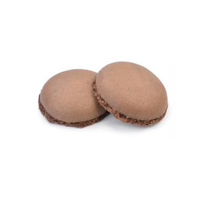 Macarons marrone pronto all'uso Modecor 2pz (4 gusci)