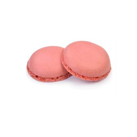 Macarons rosa pronto all'uso Modecor 2pz (4 gusci)