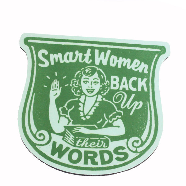 Back Up Their Words Mousepad