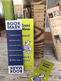 Have Novel Ideas Bookmark (Set of 3)