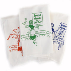 One Day At A Time  Dish Towels - Set Of Three