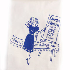 Board Meeting Day Dish Towel