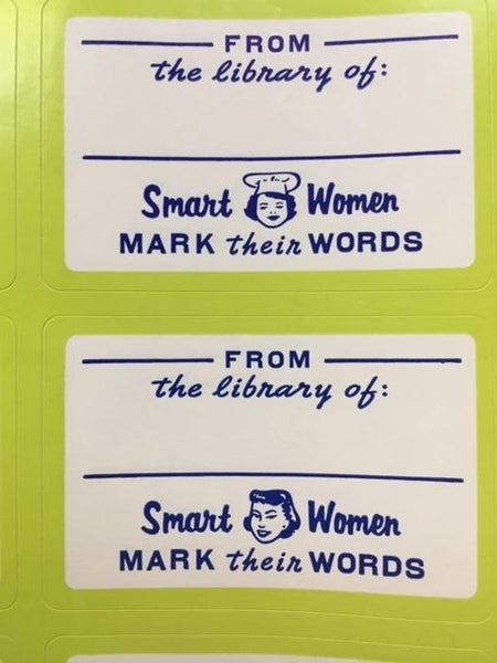 New! (Sort of) Mark Their Words Bookplate (Set of 2)