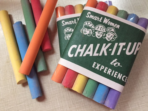 Chalk it up to Experience Chalk Set