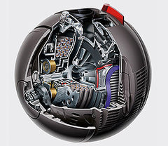 Dyson Ball Compact Animal Motor Cutaway