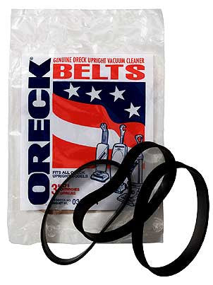 Oreck 0300604 XL Vacuum Replacement Belts