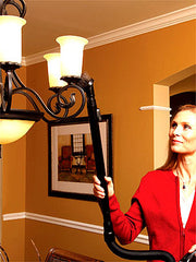 Oreck Ultimate Handheld Chandelier Cleaning