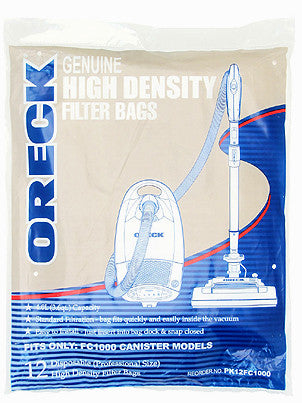 Oreck PK12FC1000 Quest Pro Canister Vacuum Cleaner Bags