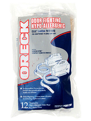 Oreck PKBB12OF HEPA Odor Fighting Handheld Vacuum Cleaner Bags