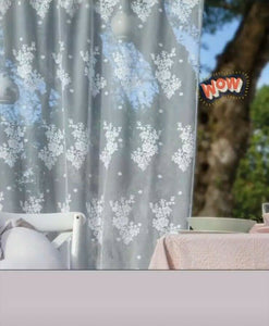 TENDA TENDONE PIZZO SUNSET COLLECTION 140X290cm. 3 COLORI