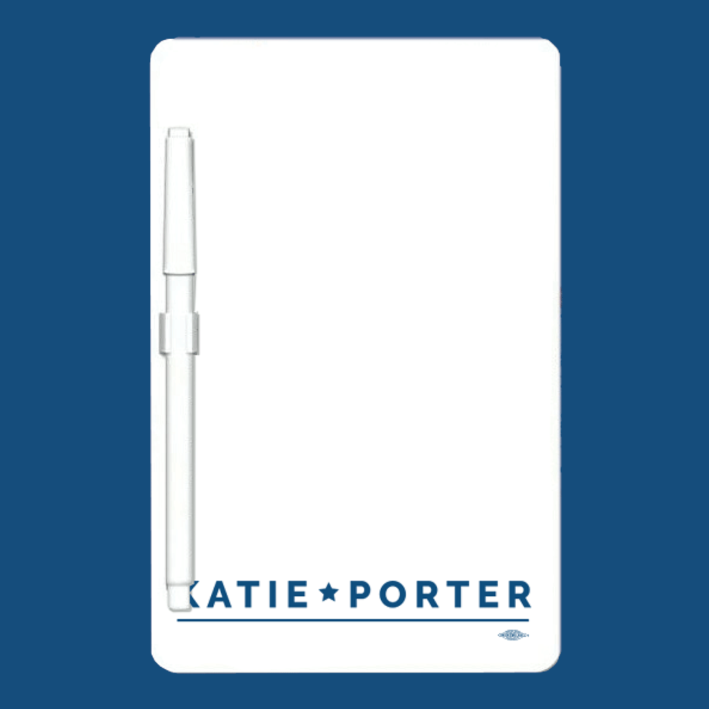 Katie Porter for Congress Whiteboard