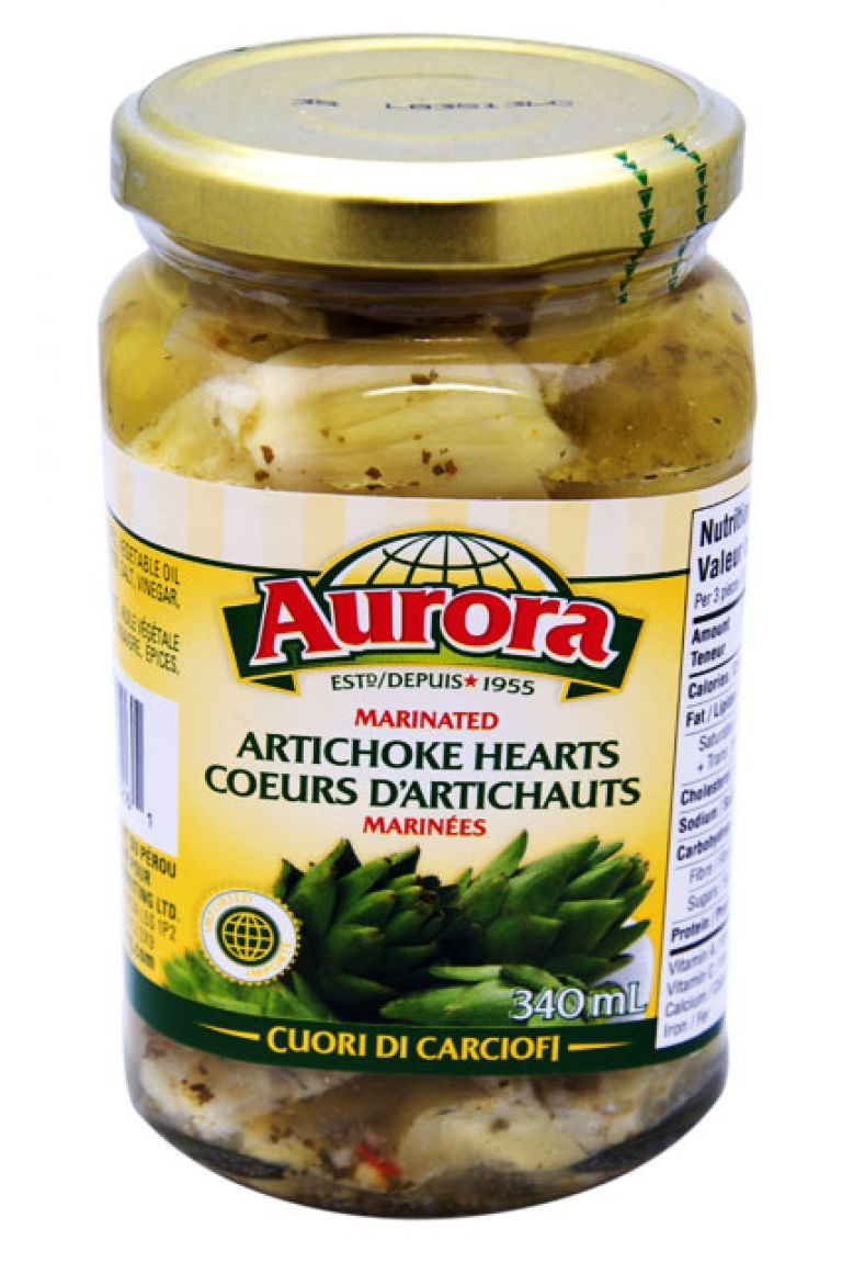 AURORA ARTICHOKE MARINATED 340ML