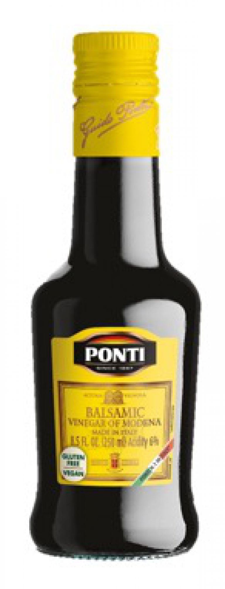 PONTI BALSAMIC VINEGAR YELLOW 250ML