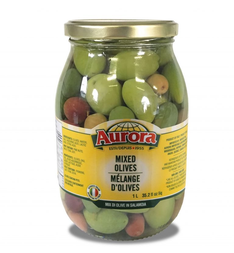 AURORA OLIVES MIXED 1LT