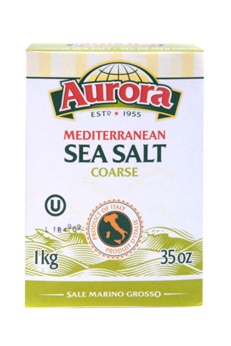AURORA SEA SALT COARSE 1KG