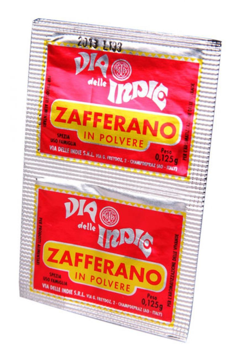 VIA D'INDIA ZAFFERANO 2X.125GR