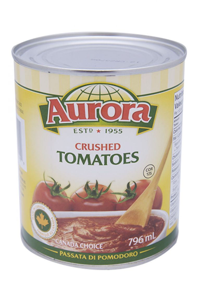 AURORA TOMATOES CRUSHED 796ML