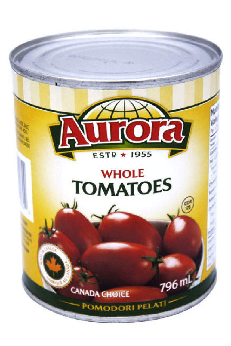 AURORA TOMATOES CDN PLUM 796ML