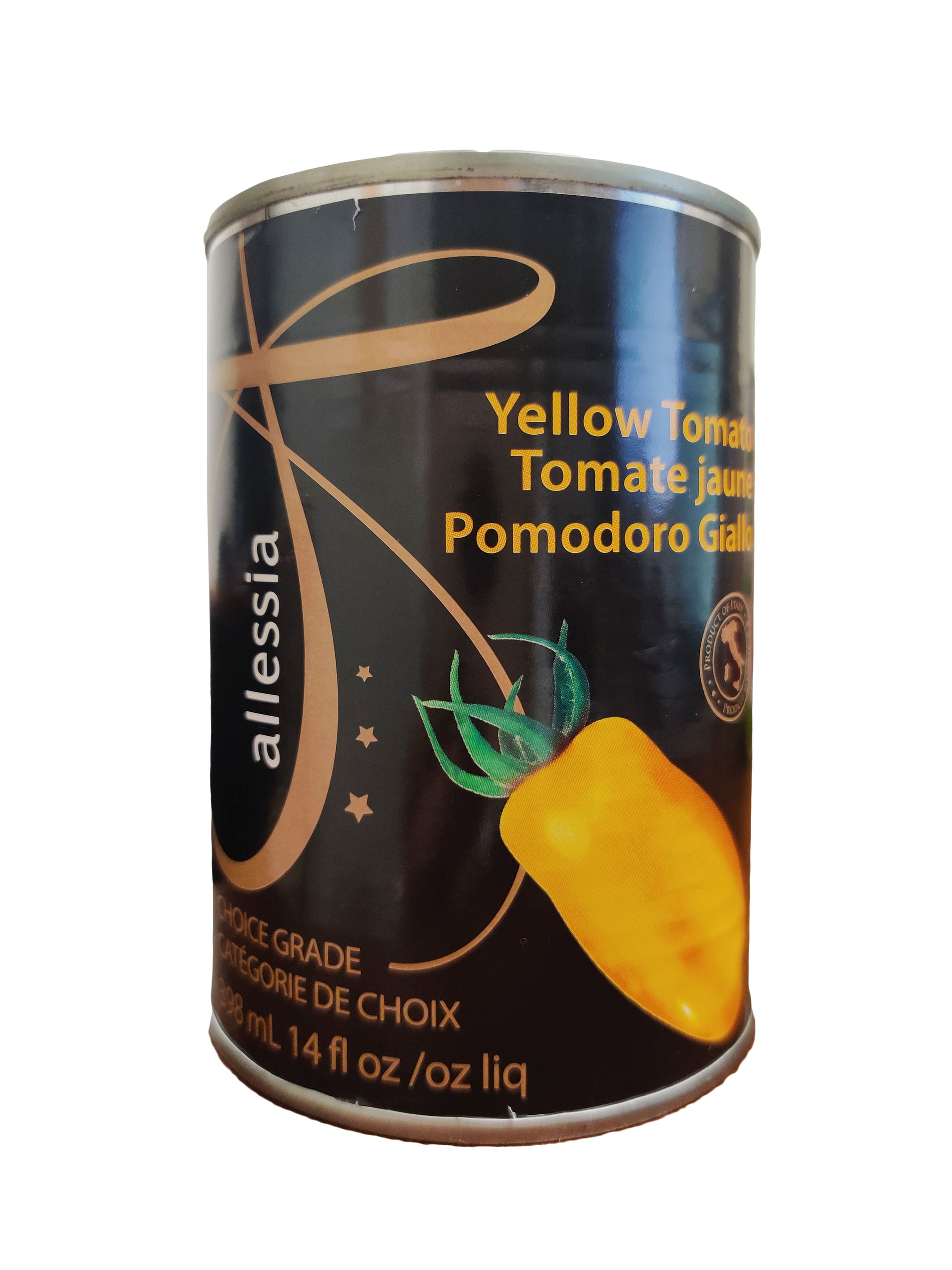 ALLESSIA TOMATOES YELLOW 398ML