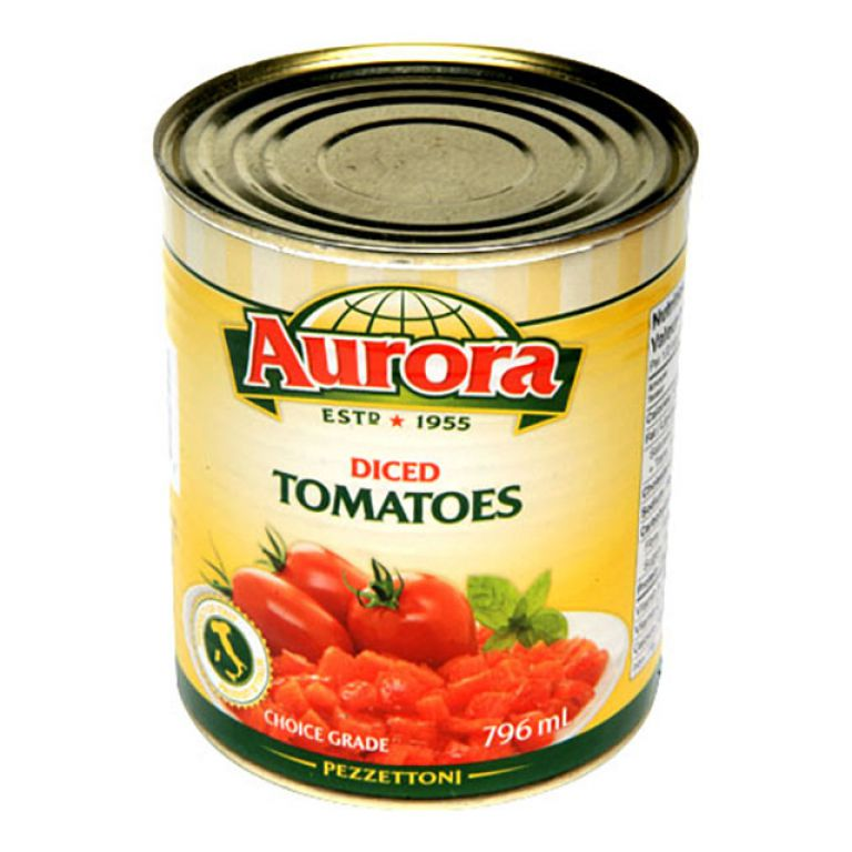 AURORA TOMATOES DICED 796ML