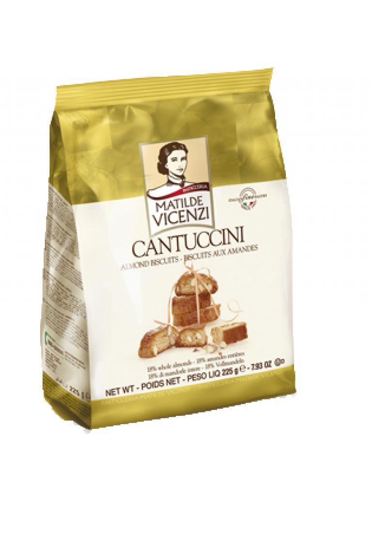 VICENZI CANTUCCINI BAG 225GR