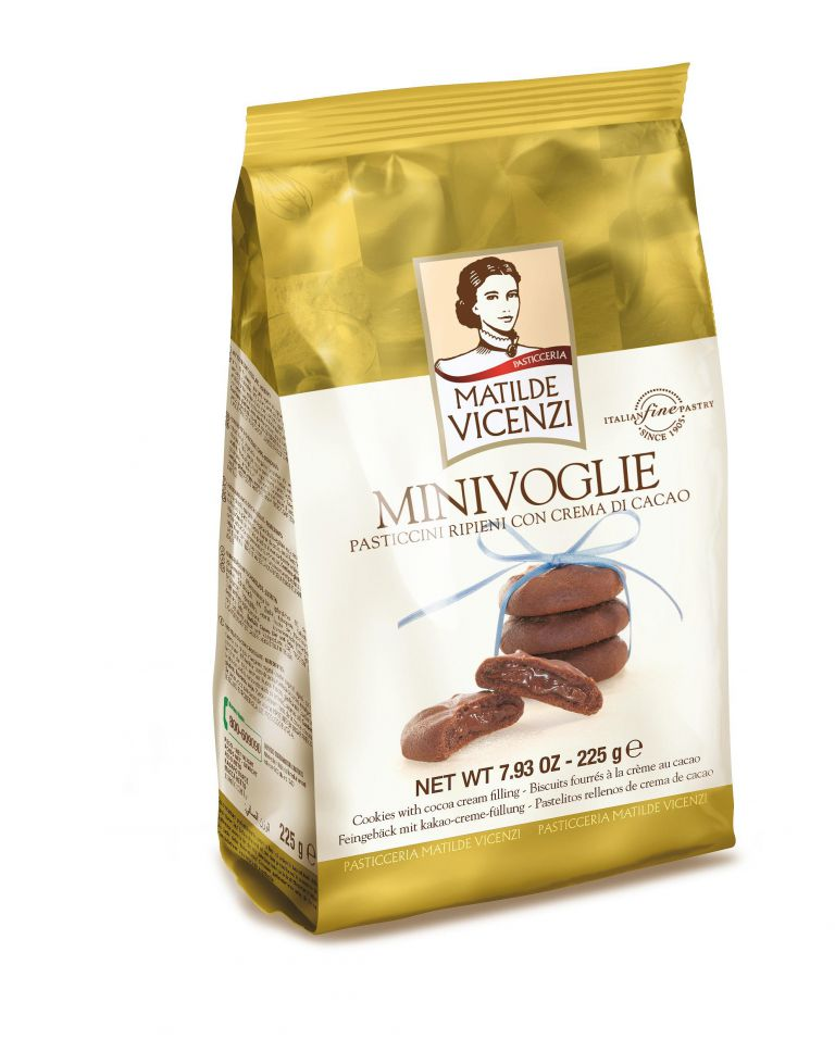 VICENZI MINIVOGLIE COCOACREAM 225GR