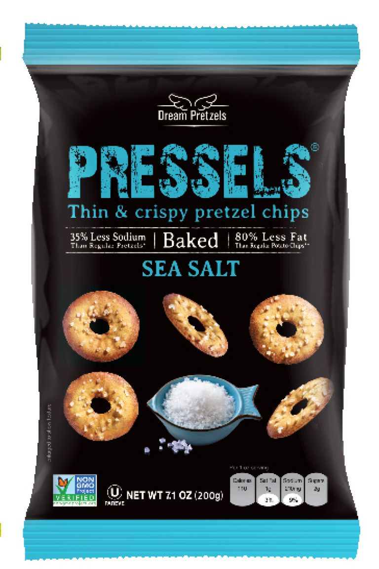 DREAM PRETZEL PRESSEL SEA SALT 200G